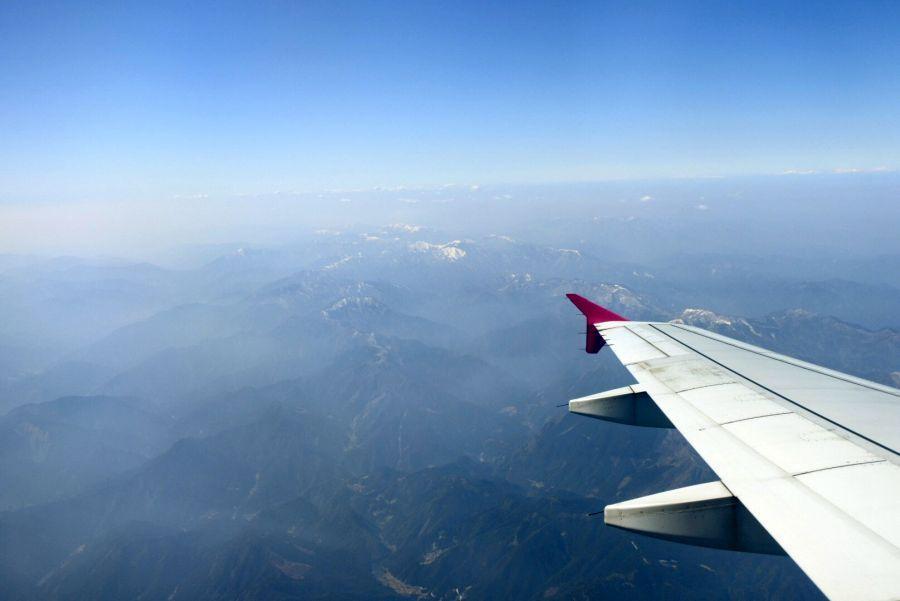徳島上空1
