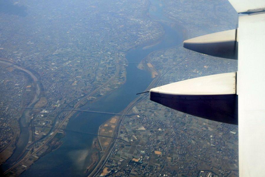 徳島上空5