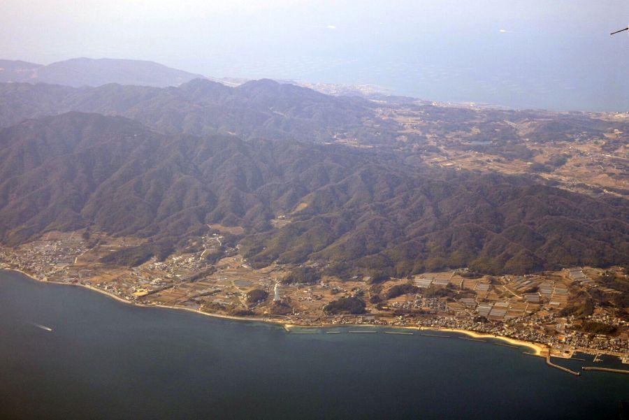 徳島上空9