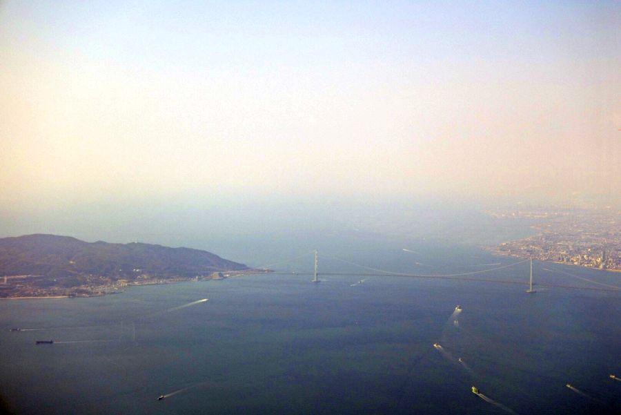 徳島上空10
